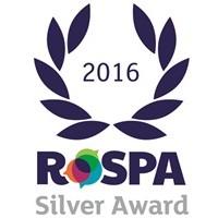 ROSPA SILVER SUCCESS FOR JAMES BRIGGS